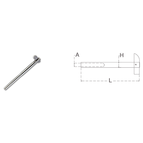 Optio Railing Iacta Pin Studs