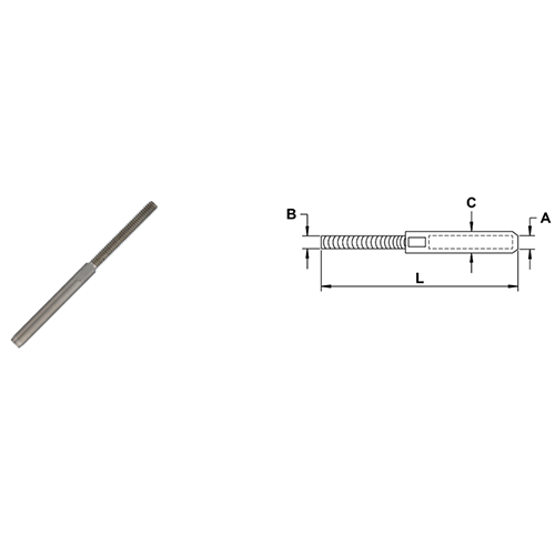 Cable Railing Studs