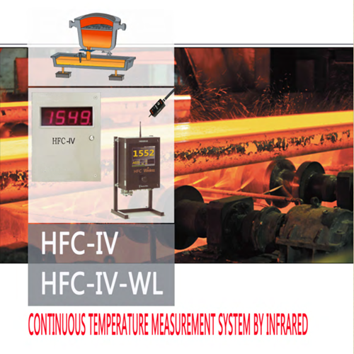 Continuous Temperature Measurement System By Infrared