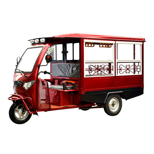 Fully Enclosed Sightseeing Electric Tricycle
