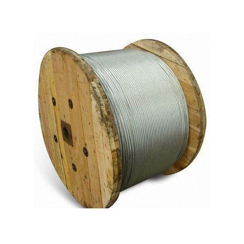 Galvanized Steel Wires Strands, Used to Fix and Tie Hanging System and Communication Cable