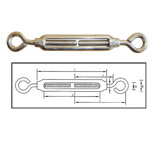Coreanica Turnbuckles