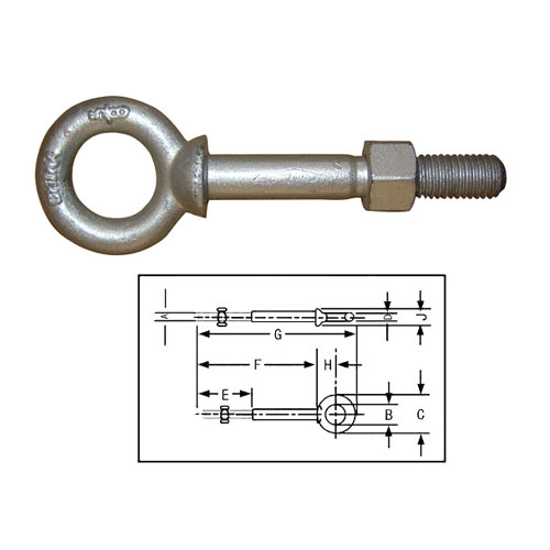 SHOULDER NUT EYE BOLTS