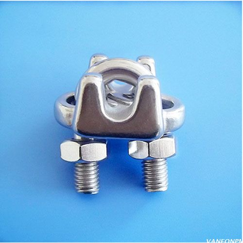 U.S TYPE STAINLESS STEEL WIRE ROPE CLIP