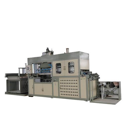 Automatic Plastic Vacuum Forming Machine for Food Box Packing Tray and Plate
